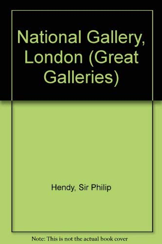 9780500070024: 'NATIONAL GALLERY, LONDON (GREAT GALLERIES S.)'