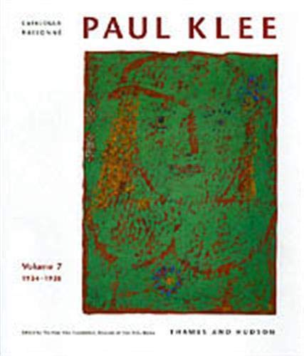 9780500092859: Paul Klee Catalogue Raisonne: 1934-1938