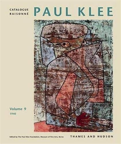 9780500092873: Paul Klee Catalogue Raisonne, 1940