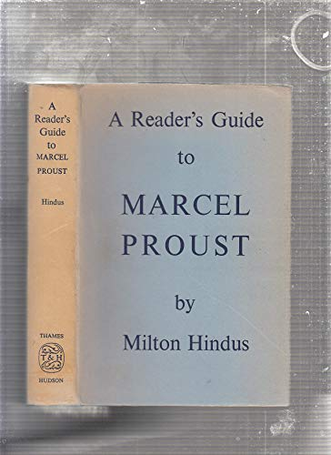 9780500140079: A reader's guide to Marcel Proust