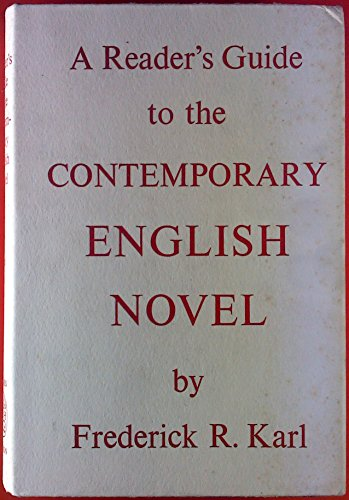 9780500140093: Contemporary English Novel (Reader's Guides)