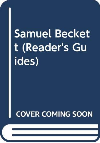 9780500140185: Samuel Beckett (Reader's Guides)