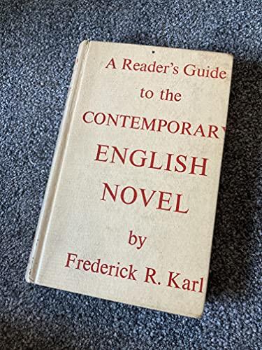 9780500140192: Contemporary English Novel (Reader's Guides)