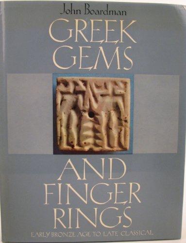 9780500160152: Greek Gems and Finger Rings