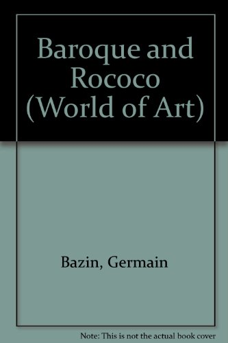 9780500180303: Baroque and Rococo (World of Art)