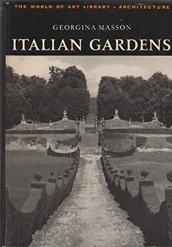 9780500180532: Italian Gardens
