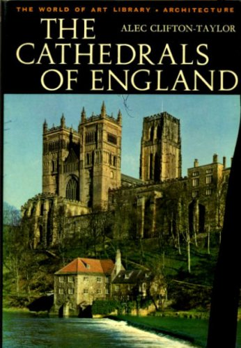 9780500180709: CATHEDRALS OF ENGLAND (WORLD OF ART S.)