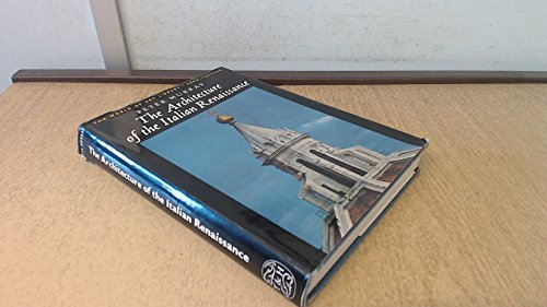 9780500181010: Architecture of the Italian Renaissance ([The World of art library: architecture])