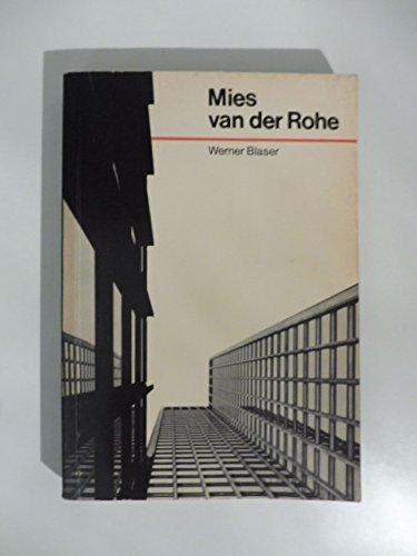 9780500201282: Mies van der Rohe