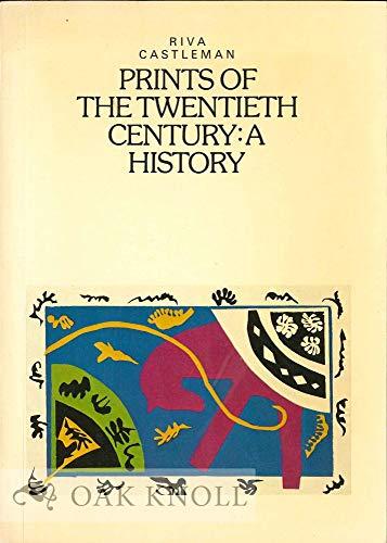 9780500201527: Prints of the Twentieth Century: A History