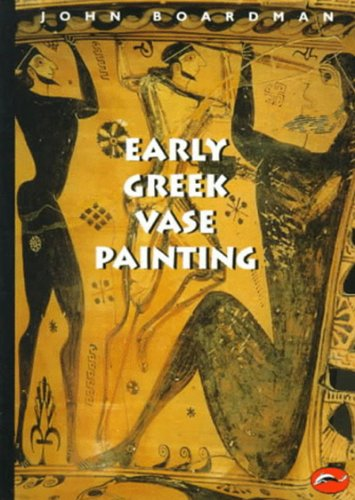 9780500203095: Early Greek Vase Painting: 11Th-6Th Centuries Bc: A Handbook