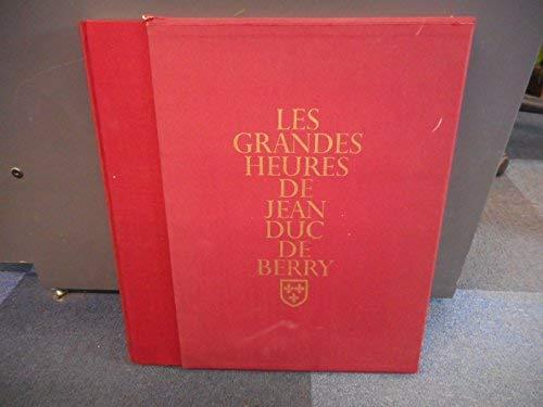 Les Grandes Heures de Jean duc de: Thomas, Marcel (Introduction