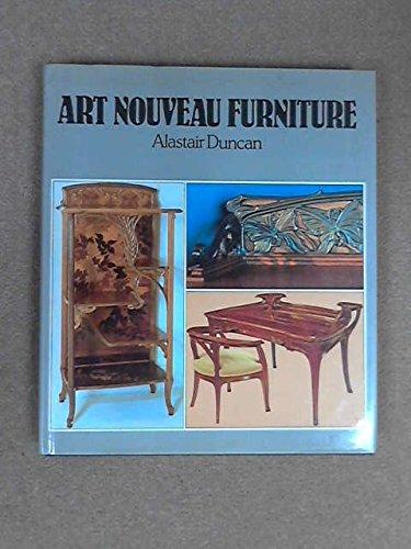 9780500233627: Art Nouveau Furniture