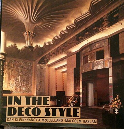 In the Deco Style: Klein, Dan; McClelland, Nancy