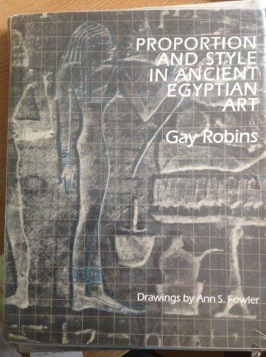 9780500236802: PROPORTION & STYLE ANC. EGYPT[O/P]