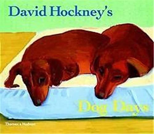 9780500237304: David Hockney's Dog Days (English and Spanish Edition)