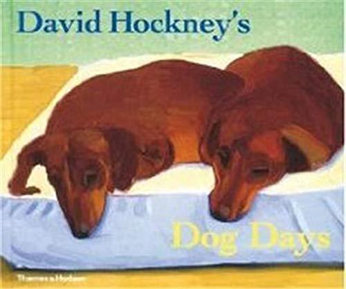 9780500238349: David Hockney's Dog Days
