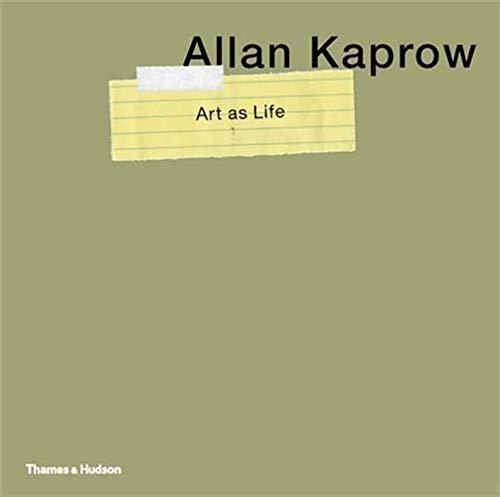 9780500238486: Allan Kaprow Art As Life /Anglais