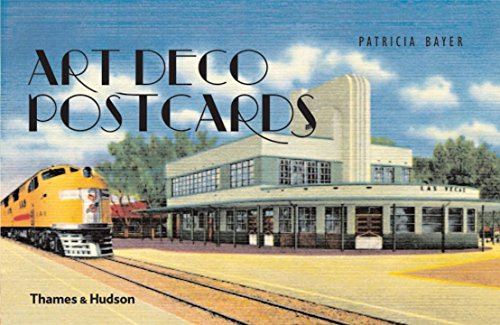 9780500238882: Art Deco Postcards