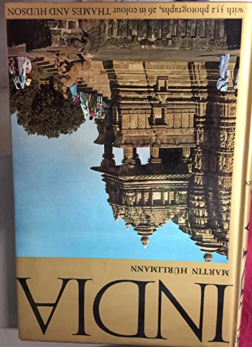 India: Hurlimann, Martin (transl. By D.J.S. thomson)