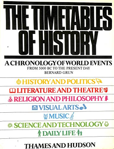 9780500250488: The Timetables of History
