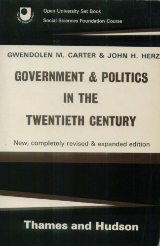 Government and Politics in the 20th Century