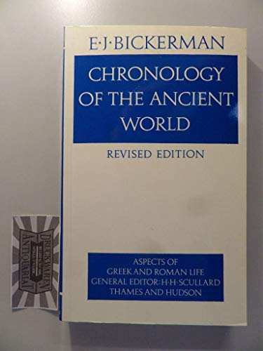 9780500271513: Chronology of the Ancient World (Aspects of Greek and Roman Life) (Aspects of Greek & Roman Life)