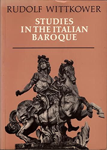 9780500272367: Studies in the Italian Baroque