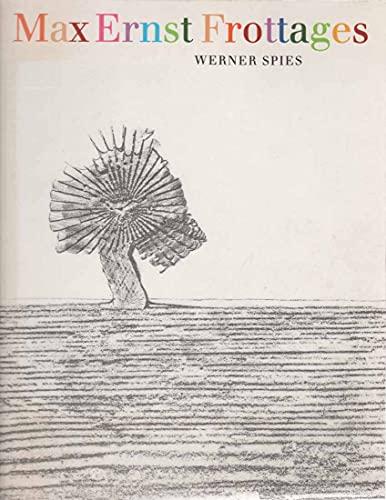 9780500274224: Max Ernst: Frottages