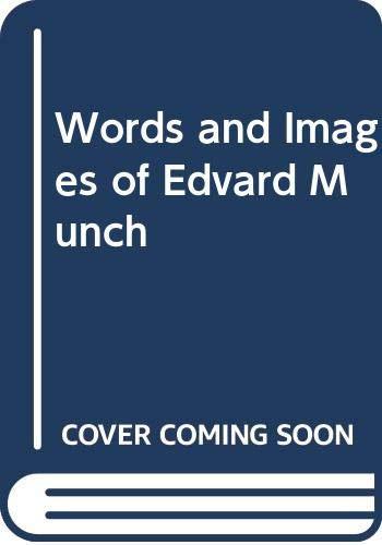 9780500275726: Words and Images of Edvard Munch