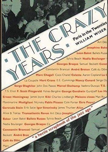 9780500275894: The Crazy Years: Paris in the Twenties