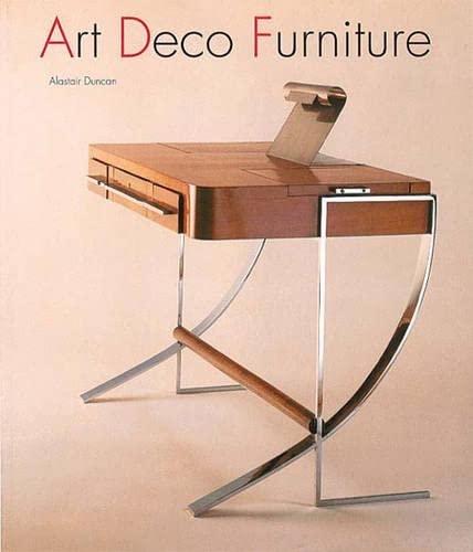 9780500276600 deco furniture the designers abebooks alastair duncan 0500276609