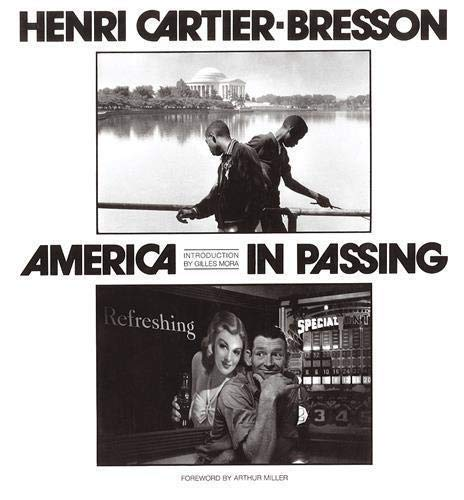 9780500279144: Cartier-Bresson America in Passing /Anglais