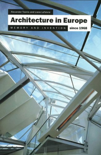 9780500279489: Architecture in Europe Since 1968: Memory and Invention