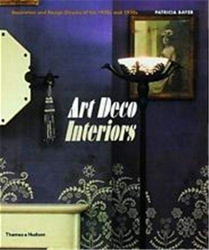 9780500280201: Art Deco Interiors: Decoration and Design Classics of the 1920s and 1930s
