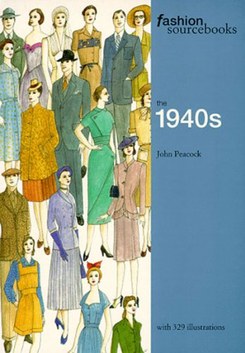 9780500280416: Fashion Sourcebooks the 1940s