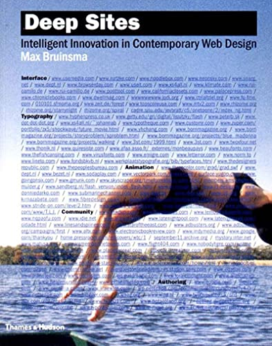 9780500283844: Deep Sites: Intelligent Innovation in Contemporary Web Design