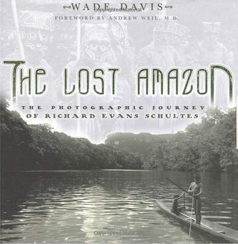Lost Amazon 9780500285244 In 1941 Richard Evans Schultes took a term's leave of absence from Harvard University and disappeared into the north west Amazon of Colombia. Twelve years later, he returned having gone places no outsider had ever been, mapping uncharted rivers and living among two dozen Indian tribes while collecting some thirty thousand botanical specimens, including two thousand novel medicinal plants and three hundred species new to science. The greatest Amazonian botanical explorer of the twentieth century, Schultes was not only a living link to the great naturalists of the Victorian age, but the world authority on toxic, medicinal and hallucinogenic plants. The Lost Amazon is the first major publication to examine Richard Evans Schultes's work through his photographs. Over the course of two decades, he took more than ten thousand images of plants, of landscapes, and of the indigenous peoples with whom he lived. Among his collection are images of teonanacatl, the sacred hallucinogenic mushrooms knows to the Aztecs as Flesh of the Gods, and whose identification sparked the psychdelic era. There are also photographs from the heart of the rain forest, a mantle of green that once stretched across the entire continent. Most importantly, there are portraits of many people never before photographed, lovingly and respectfully captured in moments of unguarded innocence that reflect his deep relationships with the native peoples.