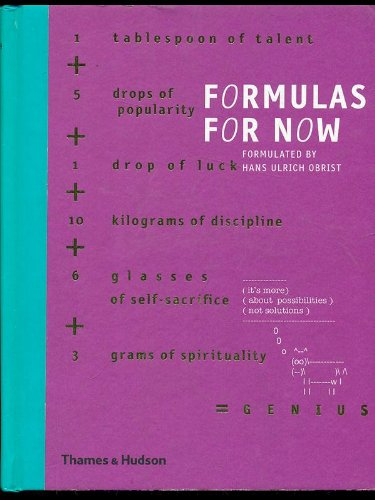 9780500287347: Formulas For Now