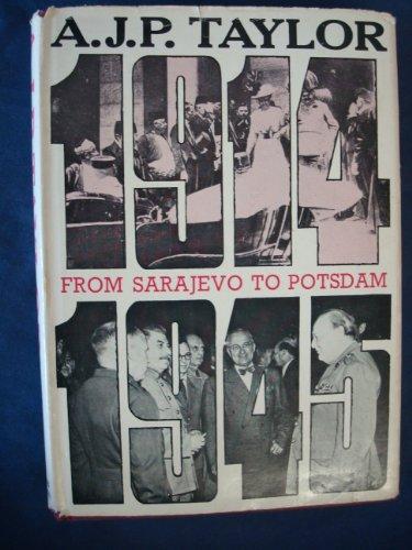 9780500320044: From Sarajevo to Potsdam (Library of European Civilization)