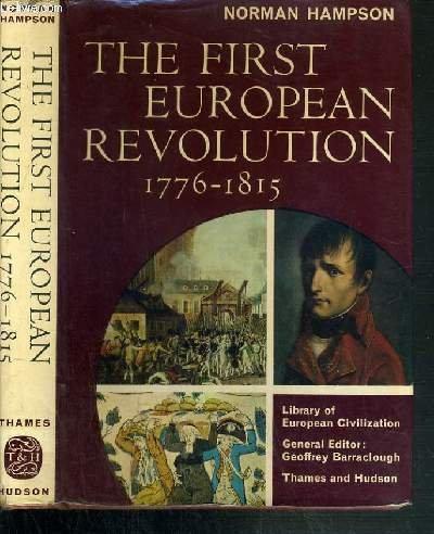9780500320150: First European Revolution, 1776-1815 (Library of European Civilization)