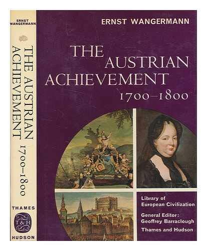 9780500320273: Austrian Achievement, 1700-1800 (Library of European Civilization)