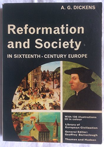 9780500330029: Reformation and Society in Sixteenth Century Europe (Library of European Civilization)