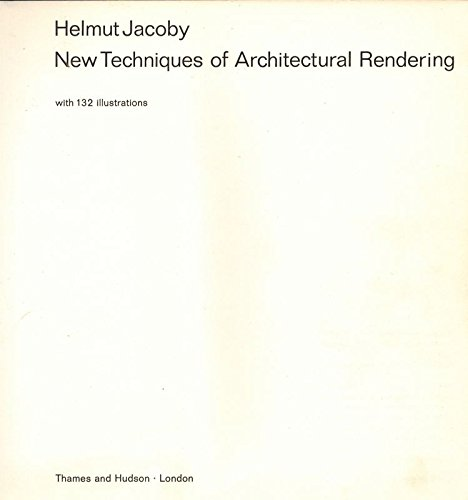 9780500340479: New Techniques of Architectural Rendering