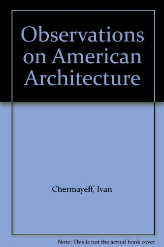 9780500340530: Observations on American Architecture