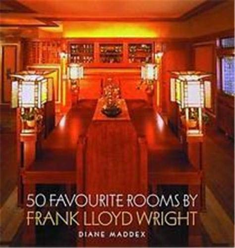 9780500341681: 50 Favourite Rooms by Frank Lloyd Wright (English and Spanish Edition)