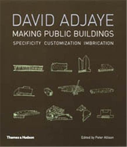 9780500342244: David Adjaye Making Public Buildings: Making Public Buildings : Specificity, Customization, Imbrication