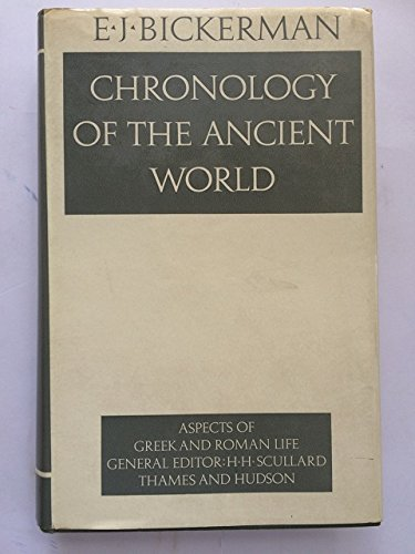 9780500400050: Chronology of the Ancient World