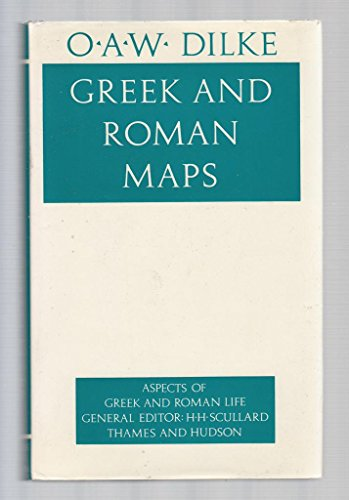 9780500400456: Greek and Roman Maps