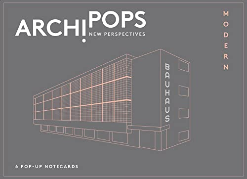9780500420164: ArchiPops: New Perspectives: Modern (Notecards)